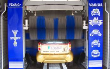 Schnellstens und schonend zum sauberen Auto, mit unserer  Christ Autowaschanlage